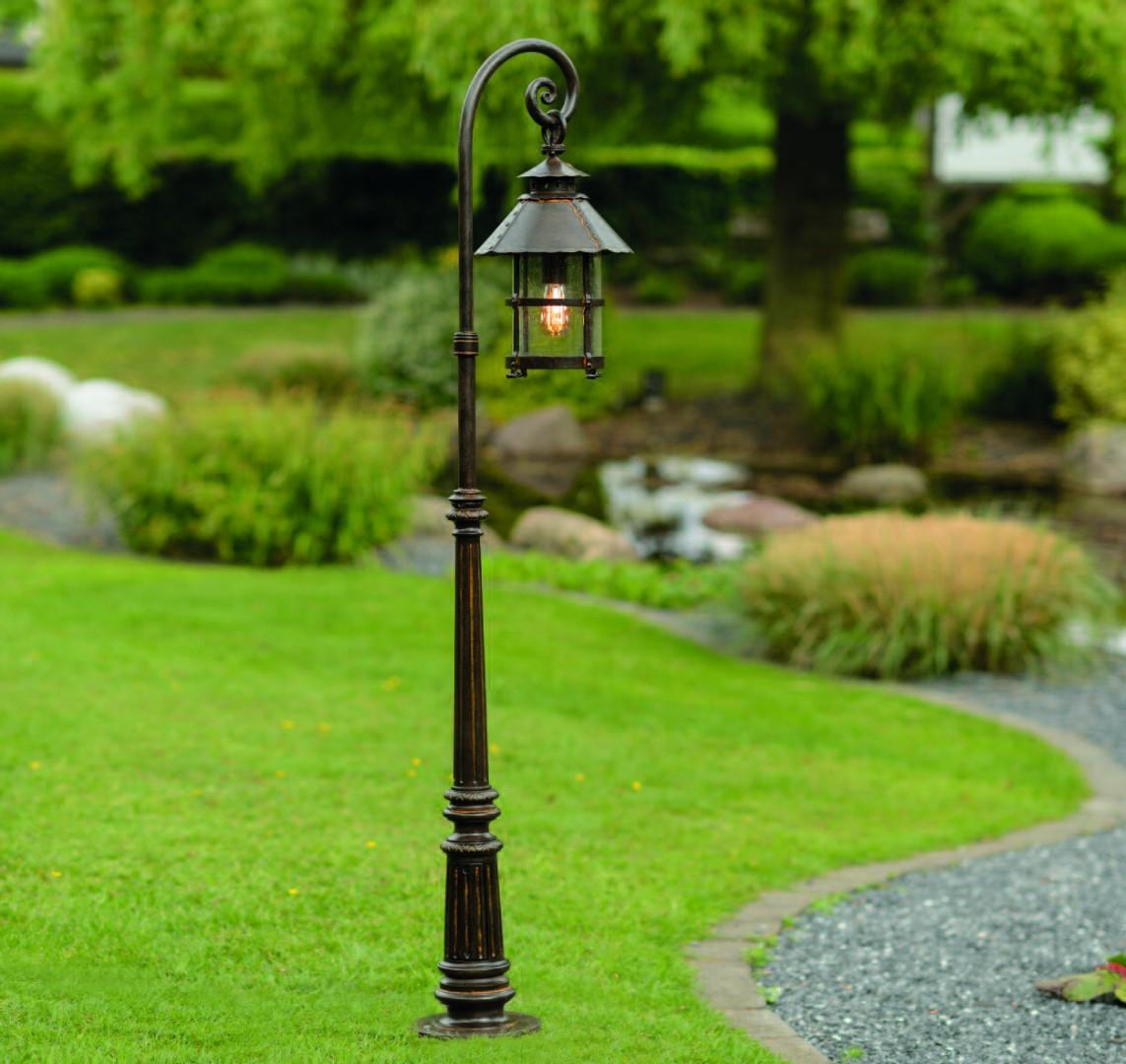 Уличные садовые фонари фото